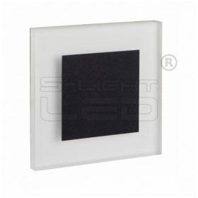 KANLUX lépcsővilágító LED lámpatest APUS LED fekete meleg fehér 26538