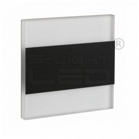 Kanlux lépcsővilágító LED lámpatest TERRA LED fekete, természetes fehér 26848
