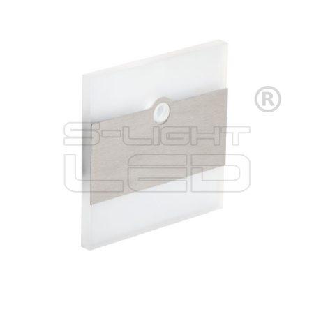 Kanlux lépcsővilágító LED lámpatest TERRA LED hideg fehér mozgásérzékelős 27373