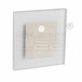 KANLUX lépcsővilágító LED lámpatest APUS LED természetes fehér, mozgásérzékelővel 27379
