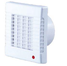 SIKU 100AZT ventilátor 100mm időzítő+automata zsalu