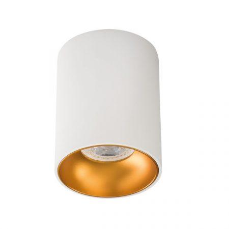Kanlux RITI B/G falonkívüli spot lámpa GU10 27571 fehér-arany