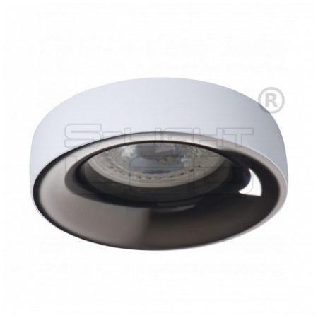 Kanlux ELNIS L W/A dekorációs álmennyezeti spot lámpa, fehér / antracit 27805