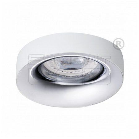 Kanlux ELNIS L W/C dekorációs álmennyezeti spot lámpa, fehér / króm 27806