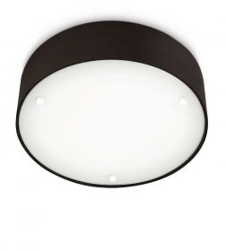 Philips 301753016 Velour mennyezeti lámpa (fekete) 2x23W 230V