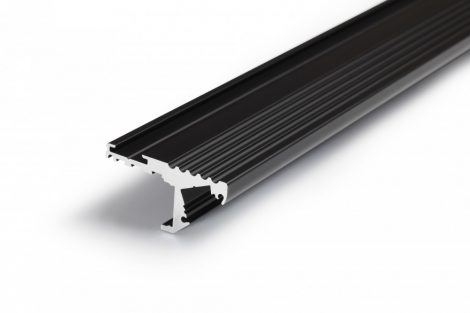 LED profil STEP fekete