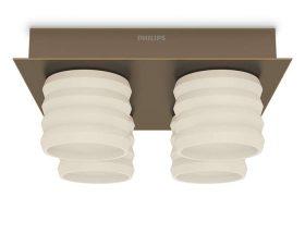 Philips-inStyle 373260616 Ortega mennyezeti lámpa (bronz) 4x4.5W