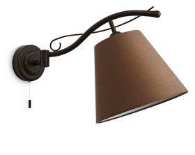 Philips 376728616 Elmore beltéri fali lámpa (rozsda) 1x42W 230V
