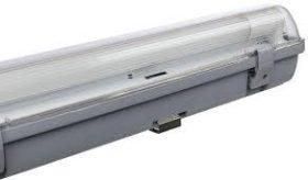 MÜLLER Licht 20800155 Aqua-Promo 2x10w LED fénycsővel 650x116x87mm IP65