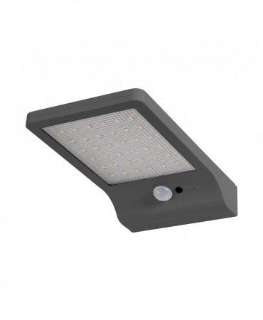 Ledvance Door LED Solar Silver napelemes LED lámpa fény és mozgásérzékelővel EZÜST