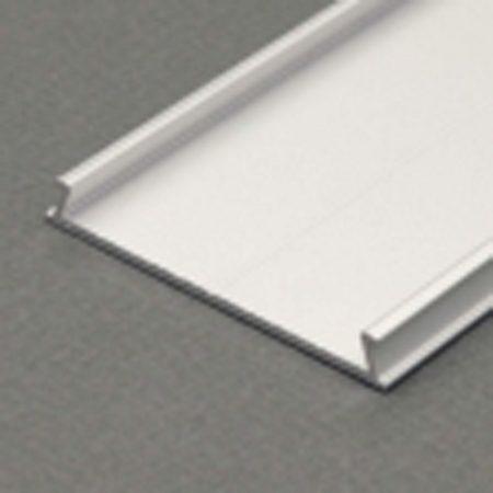 """LED profil fedél  """"C10""""  eloxált alumínium"""