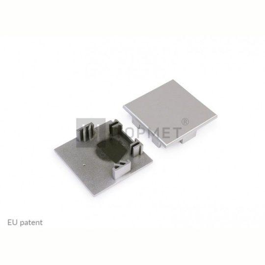 LED profil PHIL53 FK végzáró ezüst