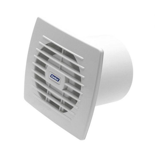 Kanlux EOL 100HT ventilátor 19W, 100 m3/h, 39 dB páraérzékelővel, időkapcsolóval