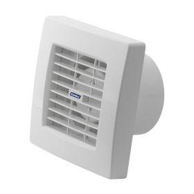 Kanlux AOL 100HT zsalus ventilátor 19W 100 m3/h 39 dB páraérzékelővel, időkapcsolóval