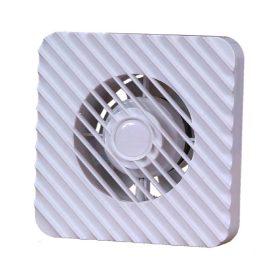 Kanlux ZEFIR 100HT ventilátor 19W, 100 m3/h, 39 dB páraérzékelővel, időkapcsolóval