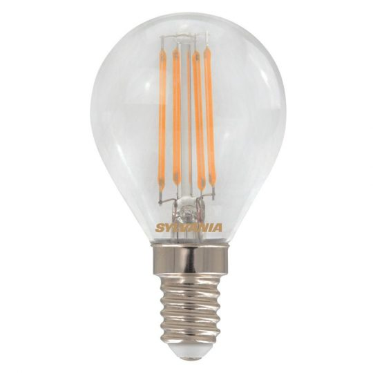 LED E14 4,5W SYLVANIA Syltech 2700K 470lm filament