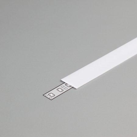 """LED profil fedél  """"B""""opál"""