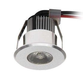 Kanlux HAXA-DSO POWER LED-B spot lámpa meleg fehér 1W kerek