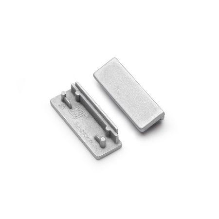 LED profil WIDE24 végzáró ezüst