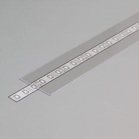 """LED profil fedél  """"G"""" víztiszta"""