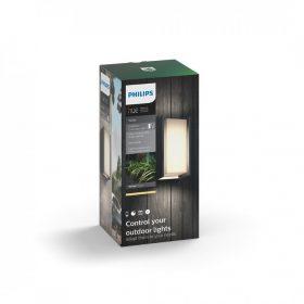 Philips HUE White - Turaco kültéri fali lámpa (inox)