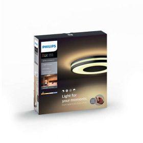 Philips Hue White Ambiance - BEING mennyezeti lámpa (fekete)