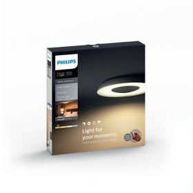 Philips Hue White Ambiance - STILL mennyezeti lámpa (fekete)