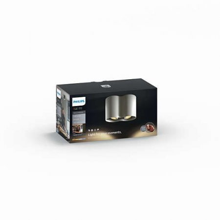 Philips Hue White Ambiance - PILLAR kettős szpotlámpa (fehér)