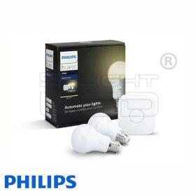 Philips Hue White - Kezdőkészlet (2 db E27, bridge)