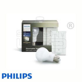 Philips Hue White - Készlet (1 db E27, fényerőszabályozó)