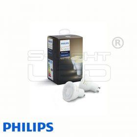 Philips Hue White - GU10 LED fényforrás (2 db)