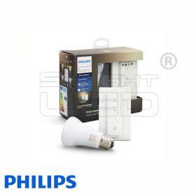 Philips Hue White Ambiance Light készlet (1 db E27, fényerőszabályozó)