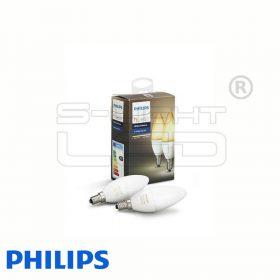 Philips Hue White - E14 LED fényforrás (2 db)