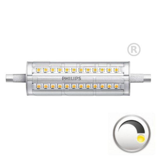 LED R7S 14W PHILIPS CorePro LED linear D 14-120W R7S 118mm 840 dimmelhető