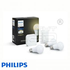 Philips Hue White - Kezdőkészlet (3 db E27, bridge)
