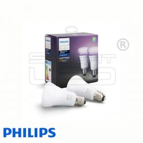 Philips Hue White and Color Ambiance - E27 LED fényforrás (2 db)