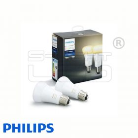 Philips Hue White - Ambiance E27 LED fényforrás (2 db)