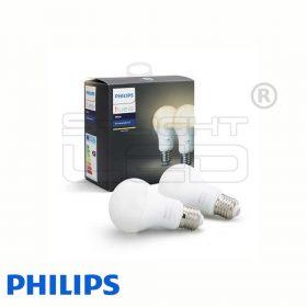 Philips Hue White - E27 LED fényforrás (2 db)
