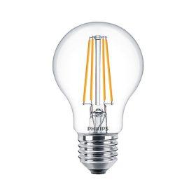 LED E27 7W PHILIPS Filament Classic LEDBulb 827 A60 CL 2700K