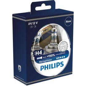 AUTOS PHILIPS  H4  RacingVision 1234RVS2 2db/csomag
