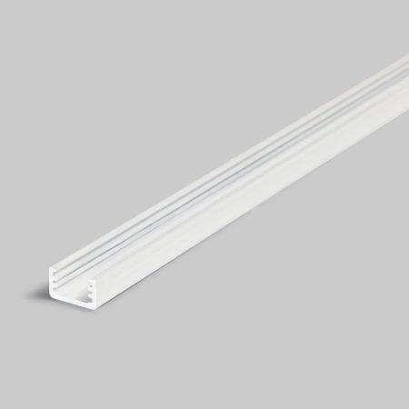 LED profil SLIM8 fehér festett