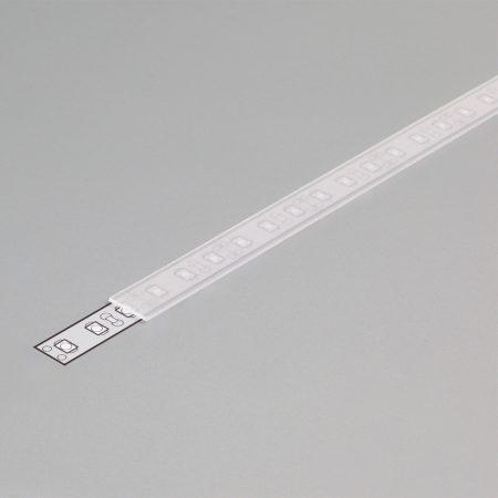 """LED profil fedél  """"A"""" opál"""