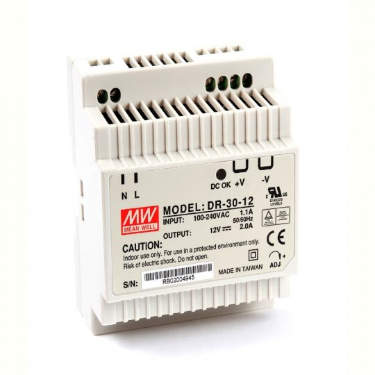 MEANWELL  30W DR-30-12 tápegység 12VDC
