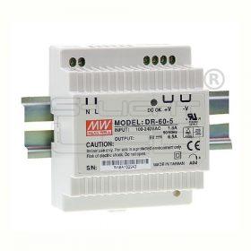 MEANWELL 60W DR 60-24 LED tápegység 24VDC