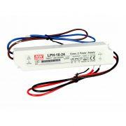 MEANWELL 18W LPH-18-24 18W-24V LED tápegység