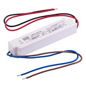 MEANWELL 18W LPH-18-12 LED tápegység