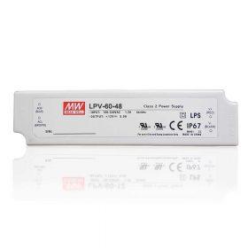 MEANWELL 60W LPV-60-48 60W-48V LED tápegység