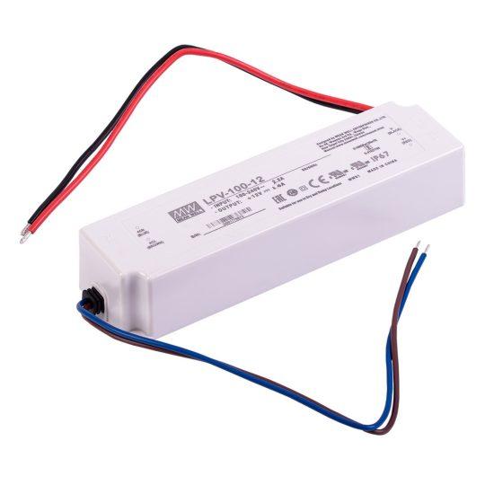 MEANWELL 100W LPV-100-12 100W-12V LED tápegység