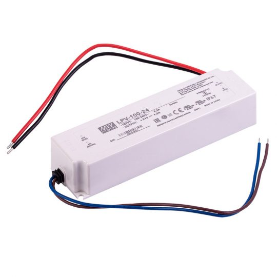 24V-100W meanwell tapegyseg