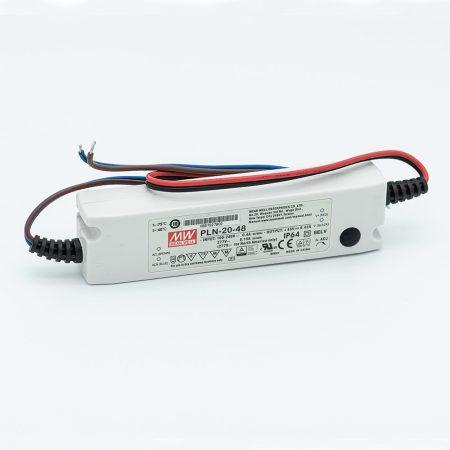 MEANWELL 20W PLN-20-48 20W-48V LED tápegység